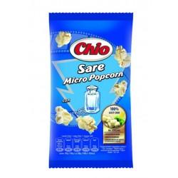 Popcorn cu sare pentru microunde Chio 80 grame