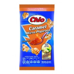 Popcorn cu caramel pentru microunde Chio 90 grame