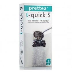 Filtre hartie ceai nr. 1 Prettea T-Quick S 100 buc