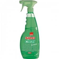 Detergent geamuri Sano Clear Green Trigger 1 litru