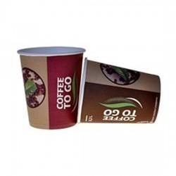 Pahare carton Romdist 200 ml 50 buc