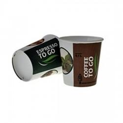 Pahare carton Romdist 100 ml 50 buc
