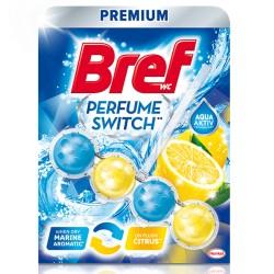 Odorizant solid WC Bref Perfume Switch Marine-Citrus 50 grame