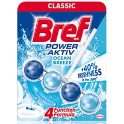 Odorizant solid WC Bref Power Aktiv Ocean 50 grame