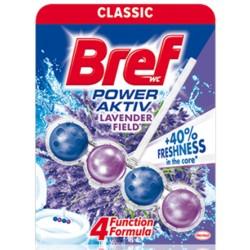 Odorizant solid WC Bref Power Aktiv Lavender 50 grame