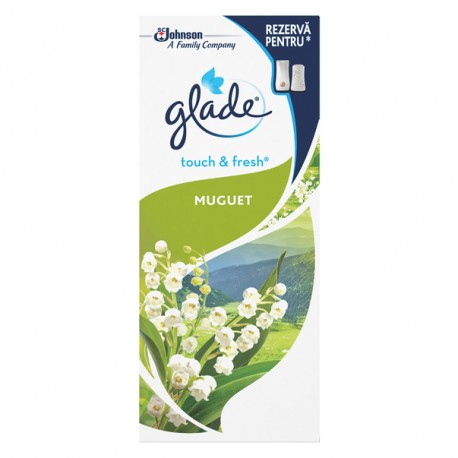 Rezerva odorizant Glade Microspray Lily of the Valley 10 ml