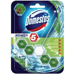 Odorizant solid WC Domestos Power 5 Pine 55 grame