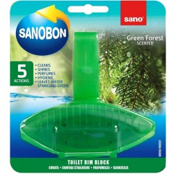 Odorizant solid WC Sano Bon Green Forest 55 grame