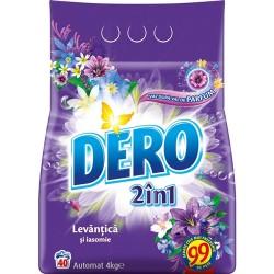 Detergent pudra Dero 2 in 1 Levantica si Iasomie 4 kg