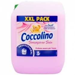 Balsam rufe Coccolino Professional Sensazione Seta 10 litri