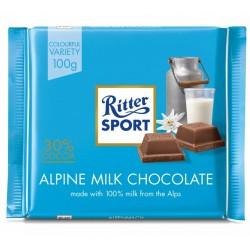 Ciocolata cu lapte Ritter Sport 100 grame