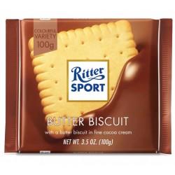 Biscuite in ciocolata Ritter Sport 100 grame