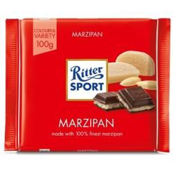Ciocolata cu marzipan Ritter Sport 100 grame