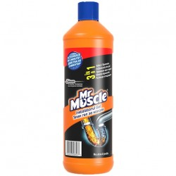 Solutie desfundat tevi Mr Muscle Instalatorul Gel 1 litru