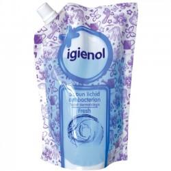 Sapun lichid antibacterian rezerva Igienol Fresh 500 ml