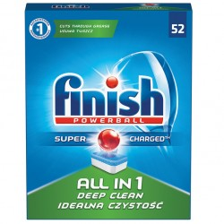 Tablete Finish All in One 52 buc