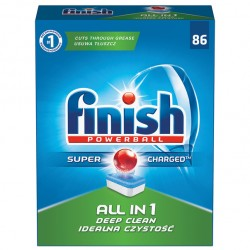 Tablete Finish All in One 86 buc