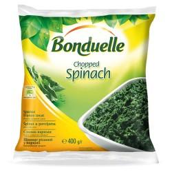 Spanac tocat congelat Bonduelle 400 grame