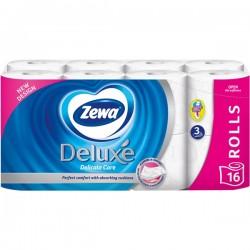 Hartie igienica Zewa Deluxe Delicate Care 3 straturi 16 role