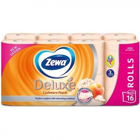 Hartie igienica Zewa Deluxe Cashmere Peach 3 straturi 16 role