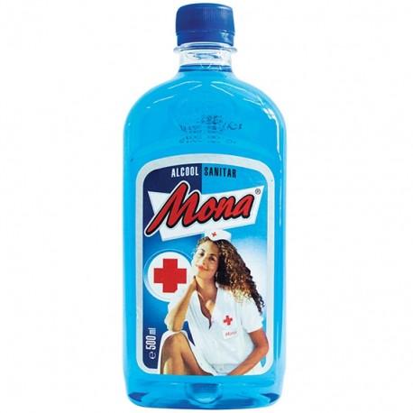 Alcool sanitar 70% Mona 500 ml