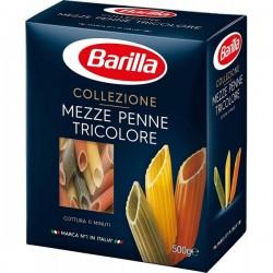 Mezze Penne Tricolore Barilla 500 grame