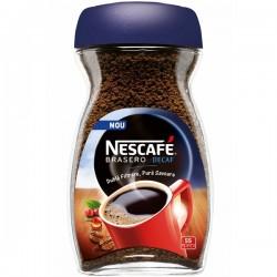 Cafea solubila Nescafe Brasero decofeinizata 100 grame