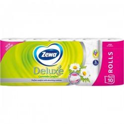 Hartie igienica Zewa Deluxe Camomile Comfort 3 straturi 10 role