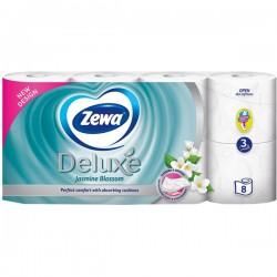 Hartie igienica Zewa Deluxe Jasmine Blossom 3 straturi 8 role