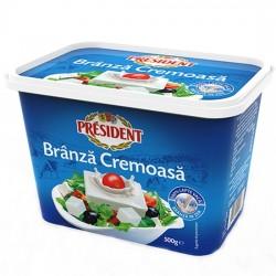 Branza cremoasa President 500 grame