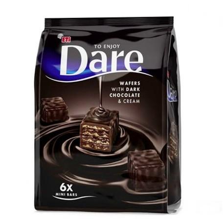 Napolitane Cu Ciocolata Neagra Dare 112 Grame Deliveryman