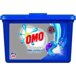 Detergent capsule Omo Trio Ultimate Active Clean 40 buc