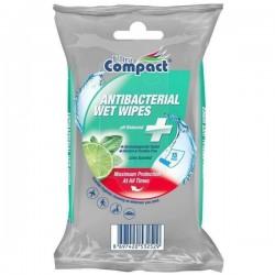 Servetele umede antibacteriene Ultra Compact 15 buc