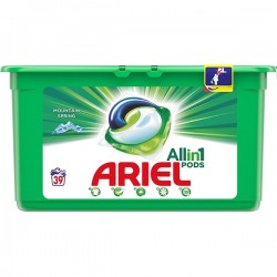 Detergent capsule Ariel 3 in 1 Pods Mountain Spring 39 buc