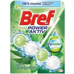 Odorizant solid WC Bref Power Aktiv Pro Nature 50 grame