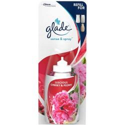 Rezerva odorizant Glade Sense & Spray Luscious Cherry & Peony 18 ml