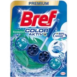 Odorizant solid WC Bref Color Aktiv Eucalyptus 50 grame