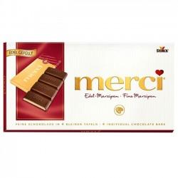 Ciocolata cu marzipan Merci 112 grame