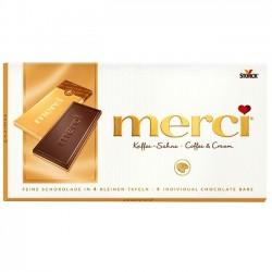 Ciocolata cu cafea si frisca Merci 100 grame