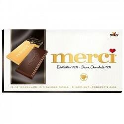 Ciocolata neagra Merci 100 grame