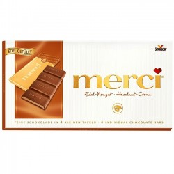 Ciocolata cu nuga Merci 112 grame