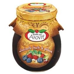 Dulceata de fructe de padure Arovit 340 grame