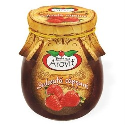 Dulceata de capsuni Arovit 340 grame