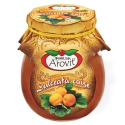 Dulceata de caise Arovit 340 grame