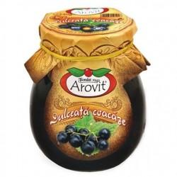 Dulceata de coacaze negre Arovit 340 grame