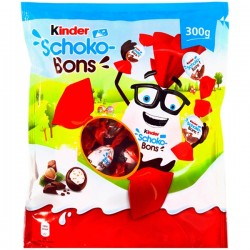 Bomboane de ciocolata Kinder Schoko-Bons 300 grame