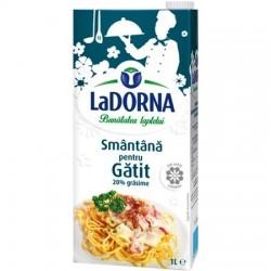 Smantana pentru gatit LaDorna 20% grasime 1 litru