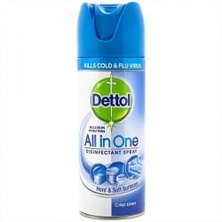 Spray dezinfectant Dettol Crisp Linen 400 ml