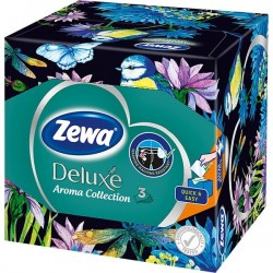 Servetele cutie Zewa Deluxe Aroma Collection 3 straturi 60 buc