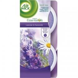 Odorizant gel Air Wick Stick Ups Lavender 30 grame 2 buc